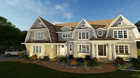 Hamptons Style  |  Woodbury  |  Custom One Homes