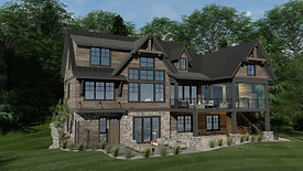 Rustic Cabin  |  Balsam Lake  |  Highmark Builders