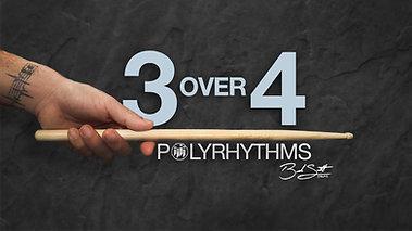 3 over 4 Polyrhythms