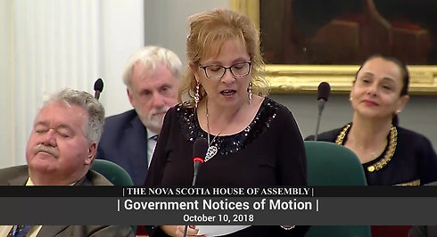 Government Notice of Motion by The Honourable Lena Metlege Diab, Q.C. : Lebanese Heritage Month