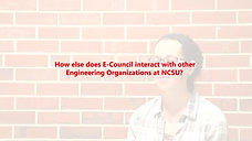 NCSU E-Council NAESC Video