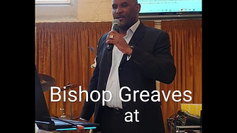 Bishop Greaves in Service