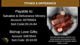 SDM Sunday Church Service Details