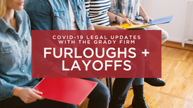 COVID-19 Updates: Furloughs & Lay-offs