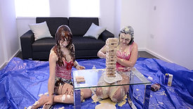 051 - MESSY JENGA WITH CHLOE & KACIE (2015)
