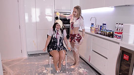 052 - SEXY SCHOOL GIRL FOOD FIGHT (2015)