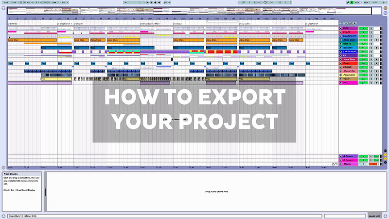 How To Export Your Project