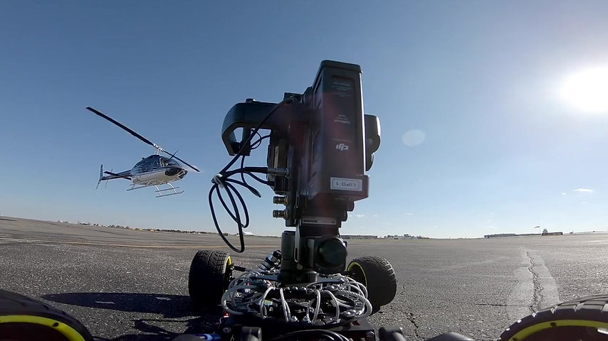 Bell Helicopter Video Shoot - Behind The Scenes