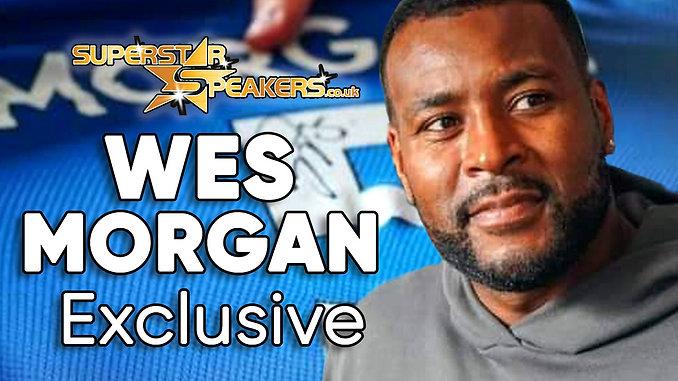 Wes Morgan Signing