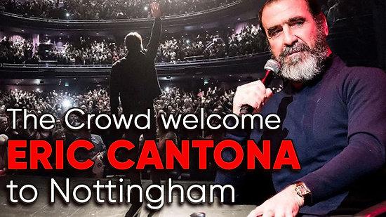 Eric Cantona Live in Nottingham