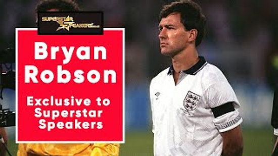 Bryan Robson: Exclusive to Superstar Speakers