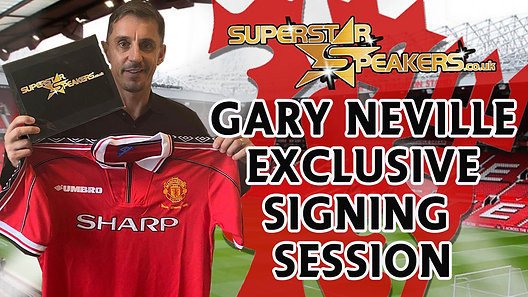 Gary Neville Exclusive Signing