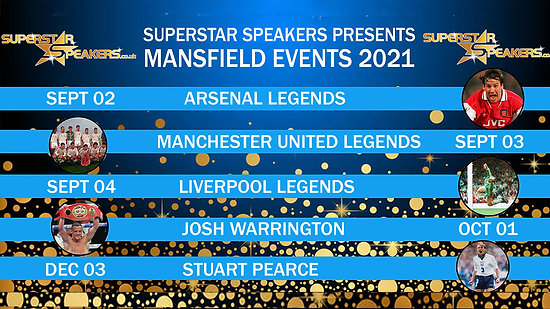Mansfield Events 2021