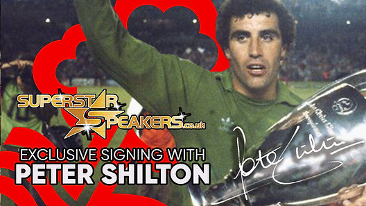 Peter Shilton Exclusive Signing