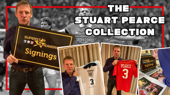 Stuart Pearce Memorabilia