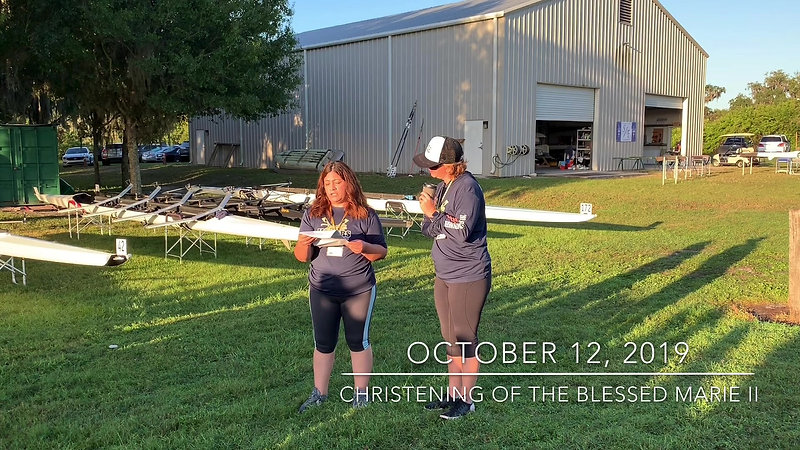 Christening of the Blessed Marie Rose II
