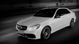 Mercedes Benz E63 AMG - Tunnel