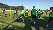 Nigeria training session