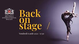 Back on Stage / Summer Program Gala 06.08