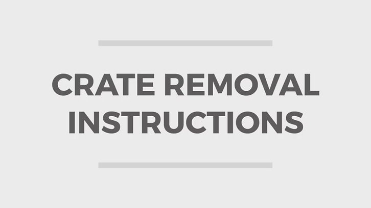 Video | Crate Removal Process
