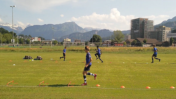 Sprinttechniktraining FC Luzern