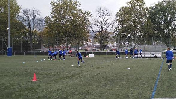 Sprinttraining Ballintegriert - Ashvin Balaruban - FC Luzern