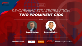 Reopening Strategies from Two Prominent CIOs