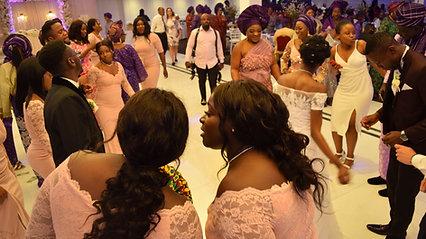 Anu and James entry dance - Nigerian Wedding