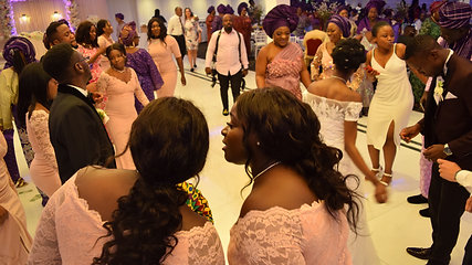 Anu and James entry dance - Nigerian Wedding
