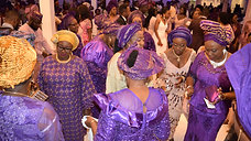 Family of Anu and James - Nigerian wedding DJ