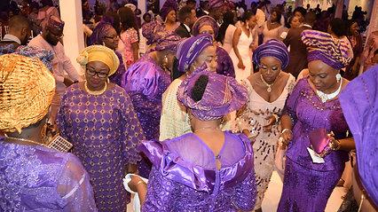 Family of Anu and James - Nigerian wedding DJ