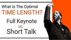 Can Poetic Voice Engage a Full Length Keynote?