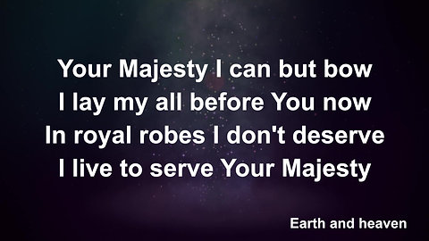 King Of Kings Majesty (Preview)