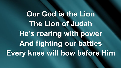The Lion And The Lamb (Preview)