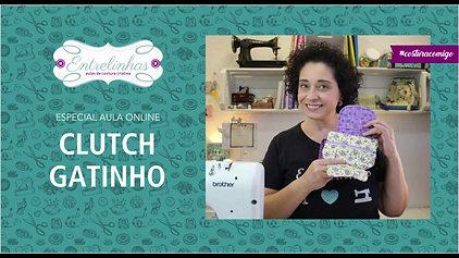CLUTCH GATINHO | AULA AVULSA | R$37