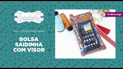 BOLSA SAIDINHA COM VISOR ⭐⭐ | AULA AVULSA | R$37