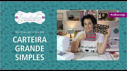 CARTEIRA GRANDE SIMPLES | AULA AVULSA | R$27