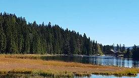 The glacial lake Kleiner Arbersee