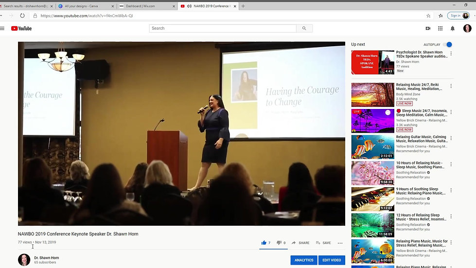 NAWBO 2019 Conference Keynote Speaker Dr. Shawn Horn - YouTube 2020-03-12 17-16-03_Trim
