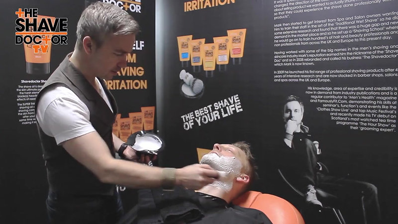 Shave Doctor Cut Throat Barber Shave Video Tutorial
