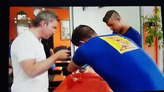 Shaving scene from episode 5