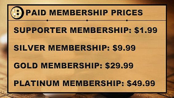 Membership Intro