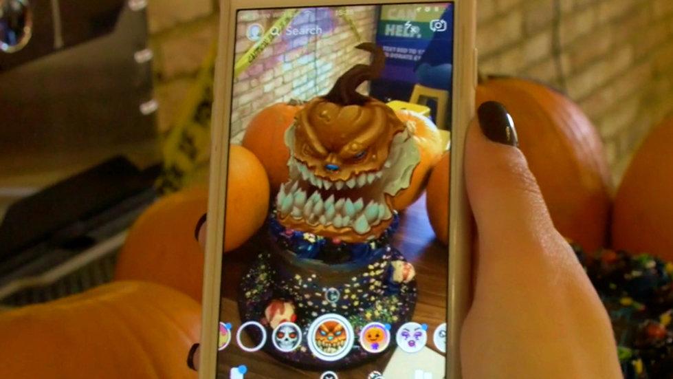 Edible Augmented Reality