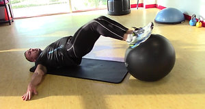 Swiss Ball Exercise Routine