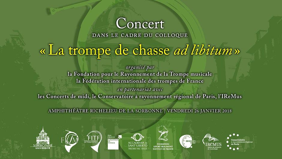 Concert Amphithéâtre Richelieu de la Sorbonne