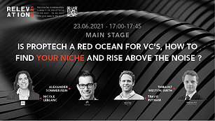 Is PropTech a red ocean for VC's, how to find your niche and rise above the noise?