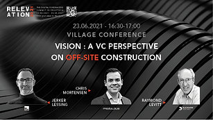Vision : a VC perspective on off-site construction