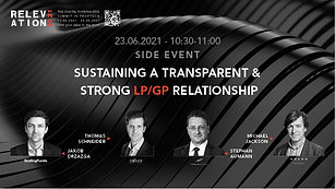 Sustaining a transparent and strong LP/GP relationship