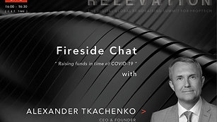Raising funds in times of COVID-19 - Fireside Chat with Alexander Tkachenko (VNX)