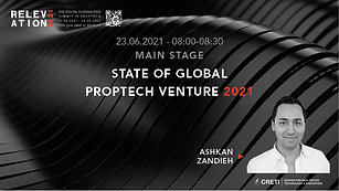 Stage of Global PropTech Venture 2021
